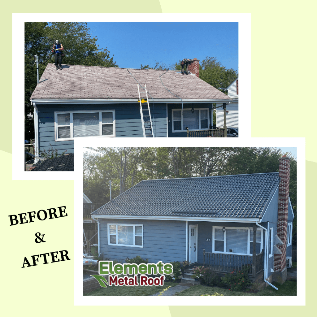 Sunnybrae Avenue 33 Before and After Insta Post